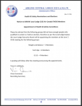Health & Safety Nominations and Elections -Appointment of Health & Safety Committees