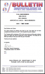 ALL MEMBERS -AIRPORTS & CARGO -GHO - TIME BANK -District 140 Bulletin #35
