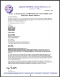 Notice of Nominations and Elections for Local Lodge 2323 Executive Board Officers
