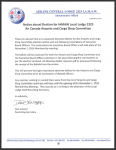 Notice about Election for IAMAW Local Lodge 2323 Air Canada Airports and Cargo Shop Committee