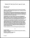 """Machinists file """"Unfair Labour Practice"""" against Air Canada"""