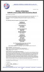 Notice of Elections -IAMAW Local Lodge 2323 Executive Board