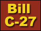 Bill C-27: A step backwards