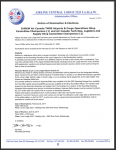 Notice of Nomination & Elections -IAMAW Air Canada TMOS Airports & Cargo Operations Shop Committee Chairperson (1) and Air Canada Tech-Ops, Logistics and Supply Shop Committee Chairperson (1)