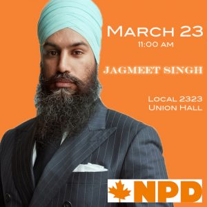 Jagmeet Singh Visit @ Local 2323 Administration Office | Mississauga | Ontario | Canada