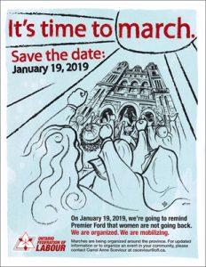 Women's March Toronto @ Nathan Phillips Square, Toronto City Hall